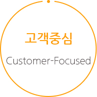 고객중심 - Customer-Focused