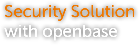 Security Solution with openbase